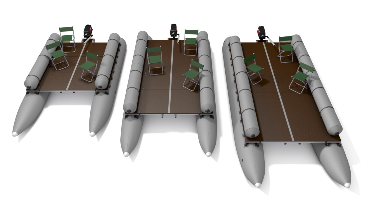Inflatable Pontoons Boats Catamarans And Custom Floats